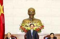 越南政府换届工作会议在河内召开