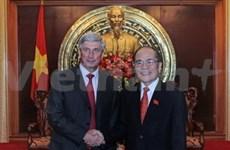 越俄加强立法机构之间的合作