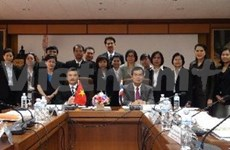 越南通讯社与泰国公共关系部加强合作
