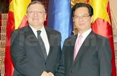 越南与欧盟发表联合新闻公报