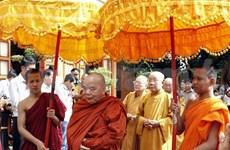 越南西南部指导委员会向后江省高棉族同胞祝贺报孝节