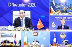 组图:第二届湄公河流域国家-韩国峰会召开