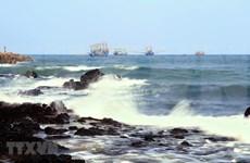 组图:广治省美不胜收的海滩 ——松门海滩