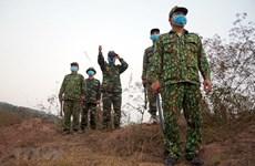 组图:越南边防部队加强巡逻  彻底防止各种非法入境活动