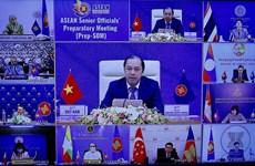 组图:2020东盟轮值主席年:东盟高官会议预备会以视频形式召开
