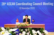 组图:范平明主持召开第28次东盟协调委员会会议