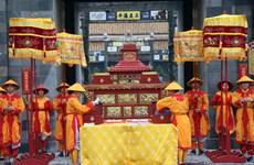 组图:承天顺化省举行午门文化空间开业仪式暨阮朝日历发布仪式再现活动