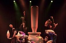 越南舞者扬威Xposition O现代舞蹈节(组图)
