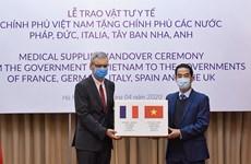 越南与世界各国携手合作抗击新冠肺炎疫情