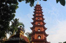 (组图)河内最古老寺庙的清幽静谧之美