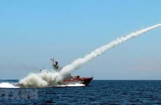 组图:越南努力建设精锐化、现代化的人民海军军种