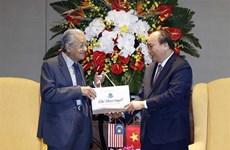 越南与马来西亚发表联合声明  强调进一步加强各领域的合作