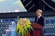 陈国旺出席莱州省建省110周年庆典
