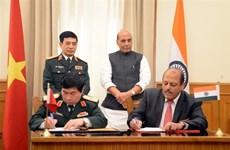 越南与印度签署有关国防技术研究的合作协议