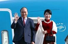 越南政府总理阮春福开始对韩国进行正式访问
