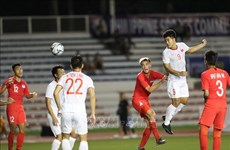 第30届东南亚运动会:越南U22队1-0力克新加坡U22队