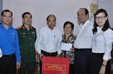 越南政府总理阮春福在芹苴市开展春节慰问活动