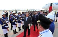 老挝国家主席对柬埔寨进行国事访问