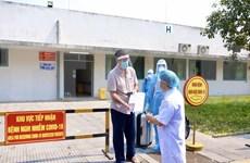 新冠肺炎疫情:第33例在承天顺化省治愈出院