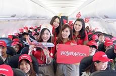 越捷航空是首家在泰国普吉机机场恢复运营的公司