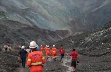 政府总理阮春福就缅甸矿区塌方事故致电该国国务资政昂山素季表示慰问