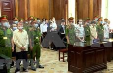 胡志明市人民法院开庭审理袭击派出所的恐怖分子