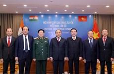 政府总理阮春福与印度总理举行视频会谈 :防务与安全合作是双边关系中的支柱