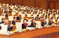 越南国会主席阮氏金银要求不断革新国会活动