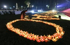 越南佛教学院举行佛祖得道日纪念仪式暨祈求国泰民安仪式