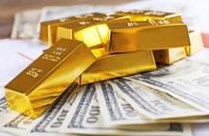 今日上午越南国内市场黄金价格每两下降5万越盾