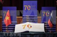 《越俄关系70周年的光辉历程》一书正式亮相