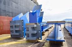越南斗山重工业有限公司向印度尼西亚热电厂提供1560吨设备