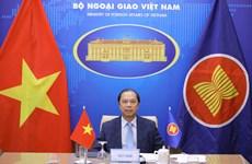 越南副外长阮国勇出席东盟与欧盟高官会视频会议