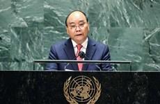 越南国家主席阮春福在联合国大会第76届会议一般辩论上的讲话(全文)