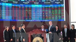 英国首相卡梅伦出席在胡志明市证券交易所系列投资促进活动
