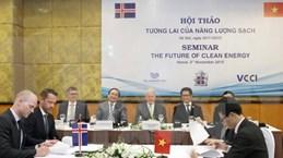 越南冰岛合作推动清洁能源发展