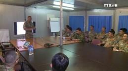 越南一号二级野战医院抵达南苏丹执行任务