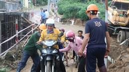 富安省:台风肆虐后多地被淹(组图)