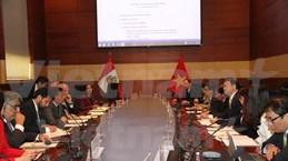 秘鲁与越南政府间经济与技术合作委员会第一次会议在秘鲁举行
