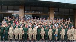 越南维和力量接受参与联合国南苏丹特派团维和行动的任务