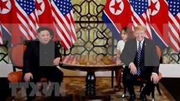 朝鲜中央电视台播放美朝领导人第二次会晤纪录片