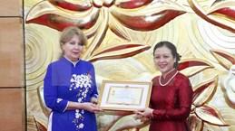 越南与亚美尼亚人民促进友好合作关系
