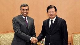 越南与科威特加强能源合作关系