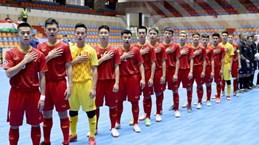 亚洲U20五人制足球决赛圈:越南 U20 五人制足球队惜败印尼队