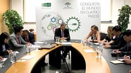 宣光省代表团对西班牙进行工作访问