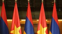 越南国会主席阮氏金银会见亚美尼亚总理帕希尼扬