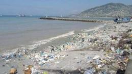 预防和减少塑料垃圾向海洋排放量