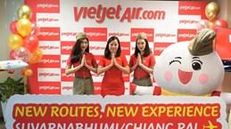 泰国越捷航空推出特价机票  庆祝从曼谷至清莱和乌隆府的新航线开通