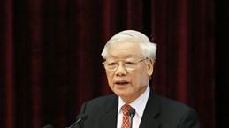 越共十二届中央委员会第十一次全体会议闭幕: 同心协力胜利完成党十二大的目标