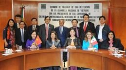 越墨两国国会共同分享文化教育经验
